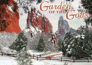 Details About Garden Of The Gods Colorado In Winter Snow National Natural Landmark Postcard