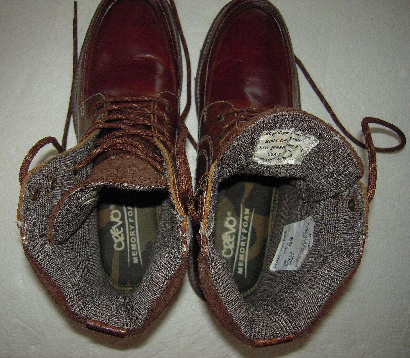 642609182ff CREVO Men s Danziger Fashion Boot Chestnut Leather 11 M US for sale online