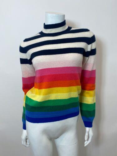 Jumper 1234 Rainbow Stripe Cashmere Sweater Size 1