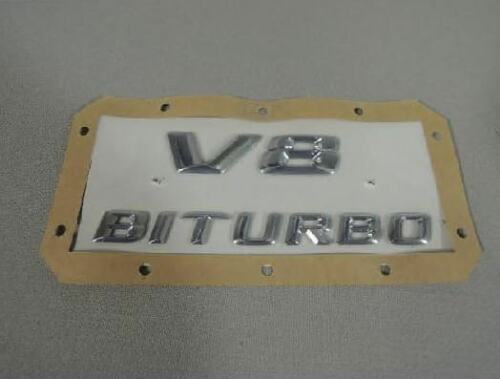 New Genuine MERCEDES SL R231 AMG V8 Biturbo Fender Emblem Decal A2318170400