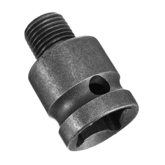 """Keyless Drill Chuck Screwdriver Impact Driver Adaptor 1//2/"""" Hex Dril Bit Tool Kit"""