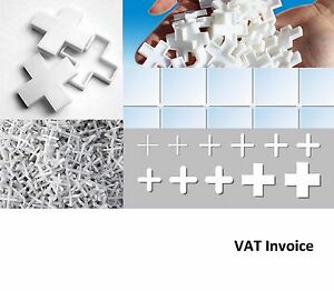 White tiling tile spacers crosses 11 sizes 1 1 5 2 2 5 3 for 10mm floor tile spacers