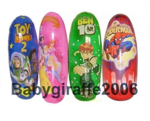 Inflatable Roly Poly Tumbler Boxing Punching Kicking Toddler Toy