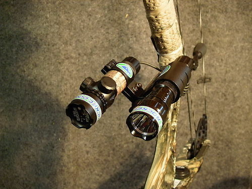 Bowfishing Light /& Green Laser Sight Combination Unit