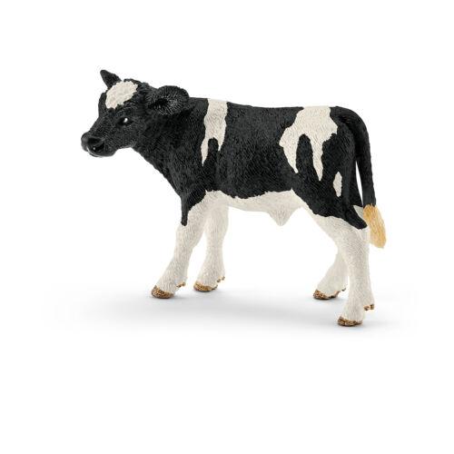 13798  HOLSTEIN KALB schwarzbunt   Neuheit 2016 ! Schleich Farm Life Nr