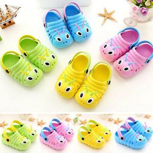 9e50dbfaaadb Summer Toddler Baby Kids Boy Girl Cute Cartoon Beach Sandals ...