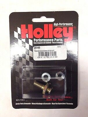 "HOLLEY 20-38 GM LONG Carb Carburetor Throttle Cable Stud 1//4/"" 1//4/""-20 A136"