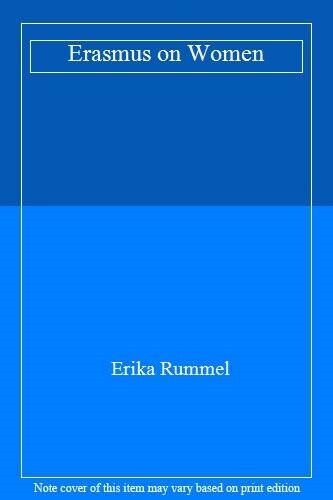 Erasmus on Women by Rummel  New 9780802078087 Fast Free Shipping Paperb PB.+