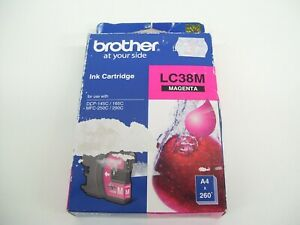 BROTHER-LC38M-GENUINE-MAGNETA-INK-CARTRIDGE-DCP-145C-DCP-165C-MFC-250C-MFC-290C