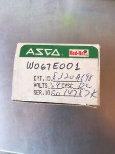 NEW ASCO RED HAT 8320A198 SOLENOID VALVE 120 VAC 1/4 NPT MODEL
