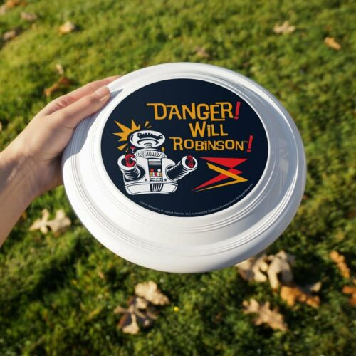 """Danger Will Robinson B9 Robot Lost In Space Novelty 9/"""" Flying Disc"""