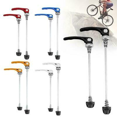 Mountain Bike Skewers Road Bicycle Quick Release Front Rear Axle Kits Extension