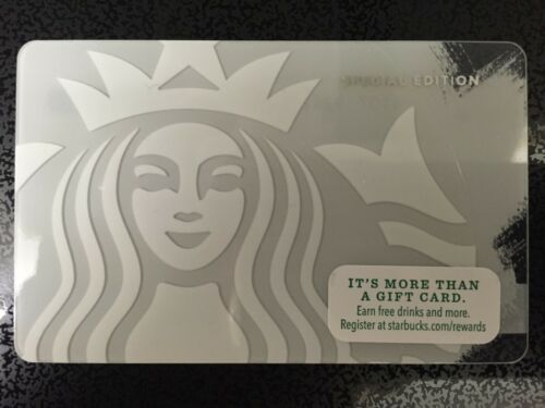 HTF Starbucks Ghost Siren Special Edition Gift Card Never Swiped NO $ VALUE
