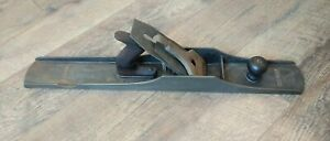 Antique-Bed-Rock-Stanley-Corrugated-Bottom-Plane-No-608-Woodworking-Tools-24-034