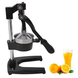 Orange Hand Press Commercial Manual Citrus Fruit Lemon