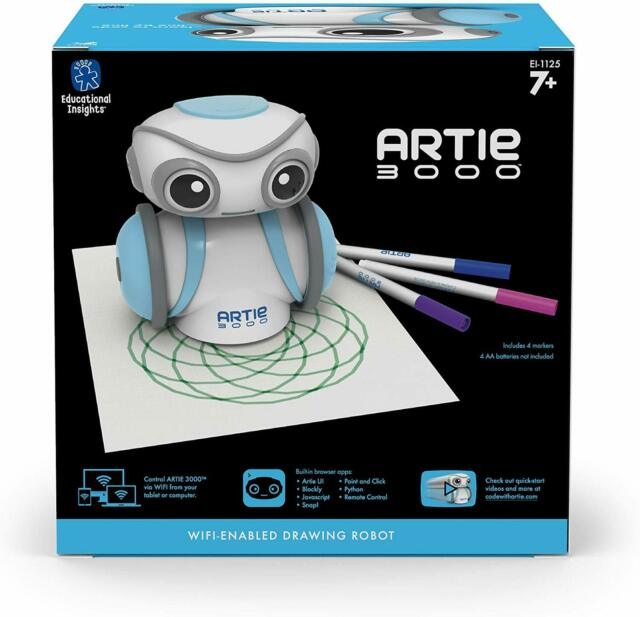 Educational Insights Artie 3000 The Coding Robot:STEM Toy ...