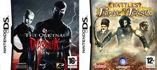 Battles  Prince of Persia & diabolik the original sin     new&sealed