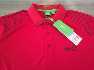 Image is loading HUGO-BOSS-GREEN-LABEL-MEN-039-S-POLO-