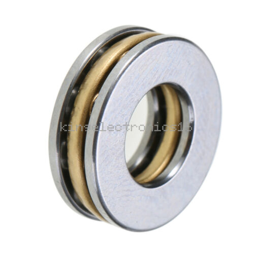5PCS Axial Ball Thrust Bearing thrust needle roller bearing 8*16*5mm F8-16M