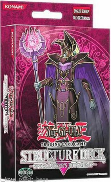 Yugioh Spellcasters Command Structure Deck Play Toy Konami New