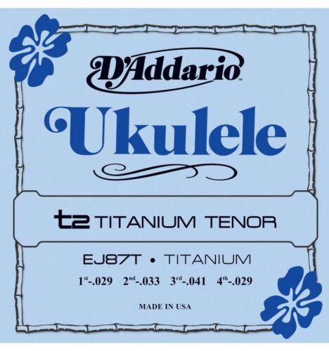Cordes ukulélé Ténor D/'addario Pro Arté Titanium EJ87T