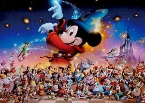 Disney Mickey?fs Party Jigsaw Puzzle D