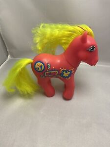 Vintage Rare My Little Pony Sweet Notes Figure Hasbro 1987 Collectable Toy