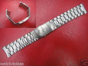 22mm St steel Bracelet strap band fits Omega Seamaster Professional Planet Ocean