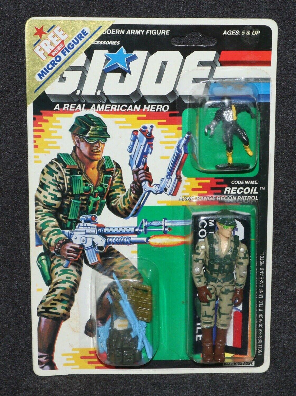 GI Joe ARAH 1988 MOC 3 3 4  Recoil B.A.T. Micro Figure