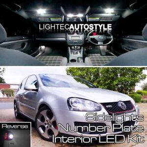 VW-Golf-MK5-18-pcs-Full-LED-Luz-Interior-Kit-Set-BLANCO-PURO-CANBUS-LIBRE-DE-ERRORES