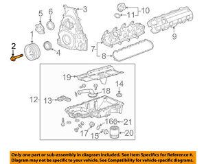 Chevrolet GM OEM 09-18 Corvette 6.2L-V8 Engine-Balancer Bolt 11570163