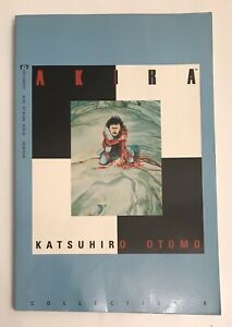 Akira-Collection-TPB-volume-4-Marvel-Epic-Comics-Book-Four-Katsuhiro-Otomo-1992