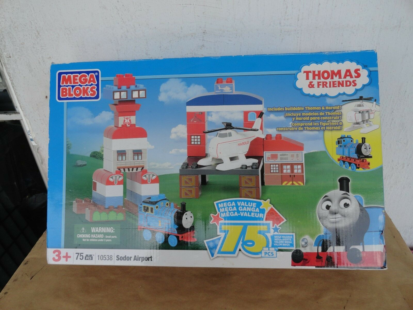 Mega bloks Thomas and friends sodor airport brand brand brand new sealed 10538 d458cf