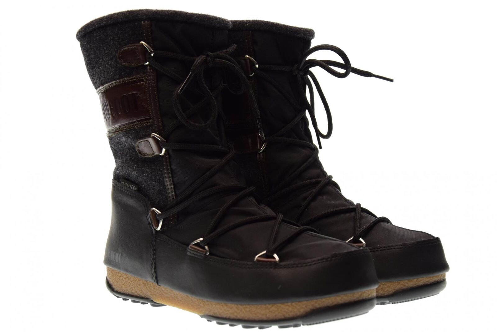 Moon Boot A17us woman shoes MOON BOOT  W.E. VIENNA FELT WP 24004400002  timeless classic