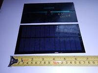 6v X 330 Ma Mini Solar Panel Epoxy Encapsulated Virtually Indestructible
