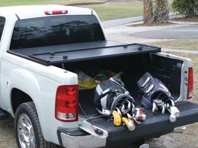 Rugged Liner Premium Hard Folding Tonneau Cover For 04 08 Ford F150 5 5ft For Sale Online