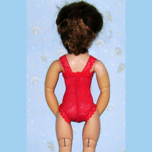 """Ready2Wear New Red Floral Lace Lingerie Teddy Outfit fit 16/"""" Vintage Elise"""