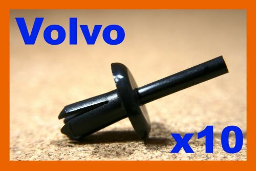 For Volvo 10 bumper fender cover push rivet fastener clips