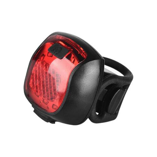 S Rücklicht LED Fahrrad Rücklicht Wasserdichtes wiederaufladbares Fahrrad  DE