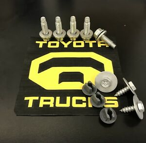 2014 Toyota 4Runner For Sale >> Toyota Tundra Factory Metal Skid Plate Bolts 2007-2020 | eBay