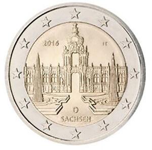 Allemagne 2016 monnaie: F Zwinger de Dresda