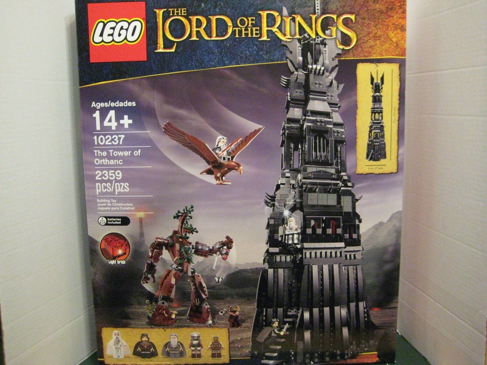Lego Exclusive Lord of the Rings  The The The Tower of Orthanc SET 54dde9