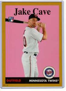 Jake Cave 2019 Topps Archives 5x7 Gold #99 RC /10 Twins