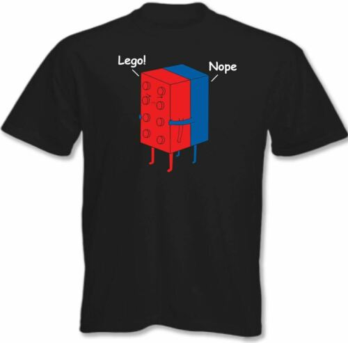 Lego T-Shirt Let Go Mens Funny TEE TOP