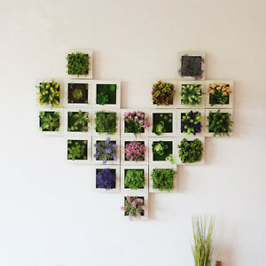 Image Is Loading Plant Photo Frame Wall Stick Decoration Artificial Flower
