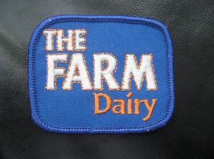 FARM-DAIRY-EMBROIDERED-PATCH-PRODUCTS-FARM-COLLECTIBLE-ADVERTISING-3-034-x-2-1-2-034
