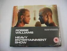 ROBBIE WILLIAMS - THE HEAVY ENTERTAINMENT SHOW - CD+DVD SIGILLATO 2016 DIGIPACK