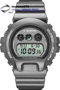 Armband- & Taschenuhren Uhren & Schmuck Ehrgeizig Digitaluhr Aus Quarz Diadora Urban di-021-02 Grau Art10_4 QualitäT Zuerst