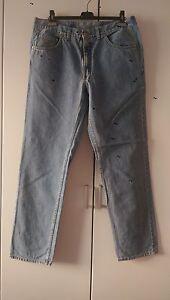 Herren Joop! Jeans Gr Blau Normal Fit Baumwolle Top