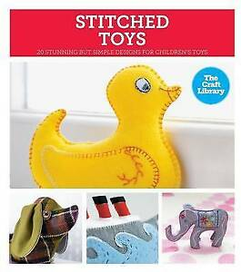 The-Craft-Library-Stitched-Toys-by-Kate-Haxell-Hardback-2014
